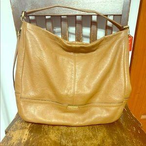 Light Brown Leather Coach Purse